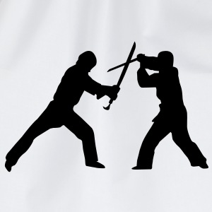 Sword fight T-Shirts - Drawstring Bag