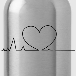 Heartbeat Men's T-shirt - Water Bottle