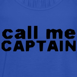 Captain Shirt - Women's Tank Top by Bella