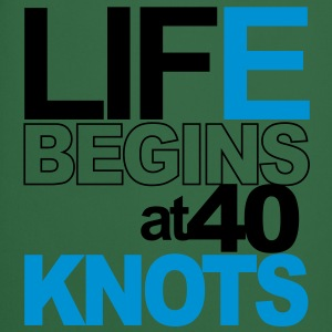 Life begins at 40 knots Tee shirts - Tablier de cuisine