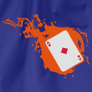 carte poker card as flamme carreau1 Tee shirts - Sac de sport léger