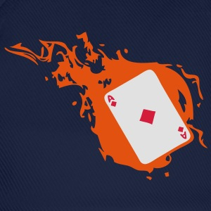 carte poker card as flamme carreau1 Tee shirts - Casquette classique