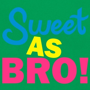 Sweet As Bro! T-Shirts - Retro Tasche
