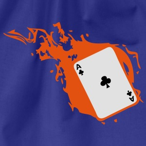 carte poker card as flamme trefle1 Tee shirts - Sac de sport léger