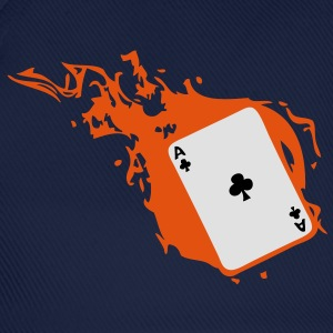carte poker card as flamme trefle1 Tee shirts - Casquette classique