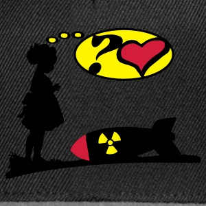 Are you Lovely? Girl love Bomb comic / Atomic Bomb   T-Shirts - Snapback Cap