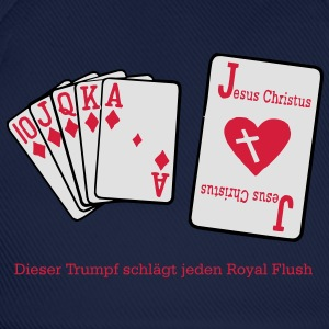 Jesus & Royal Flush  T-Shirts - Baseballkappe