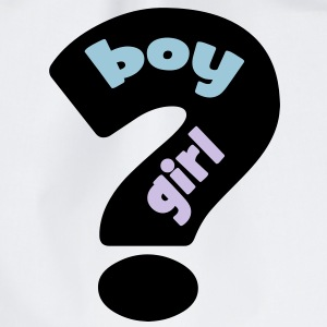 boy or girl ? T-shirts - Sportstaske