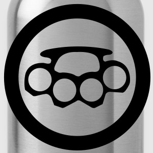 schlagring  icon T-Shirts - Trinkflasche