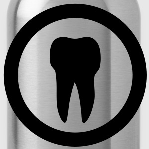 tooth icon T-Shirts - Trinkflasche