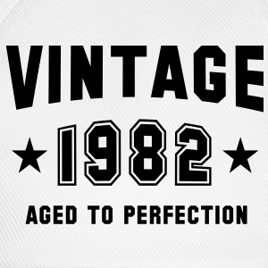 VINTAGE 1982 T-Shirt - Aged To Perfection BK - Czapka z daszkiem