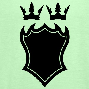 Shield with crown T-shirt - Frauen Tank Top von Bella