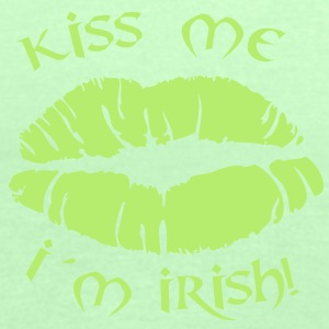 kiss me i´m irish T-Shirts - Frauen Tank Top von Bella