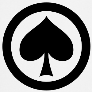 poker pik icon T-Shirts - Kochschürze