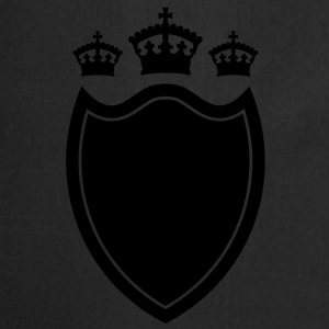 Shield with crown T-shirt - Kochschürze