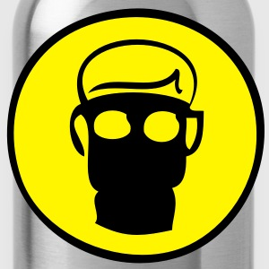 Gas Mask T-Shirts - Trinkflasche