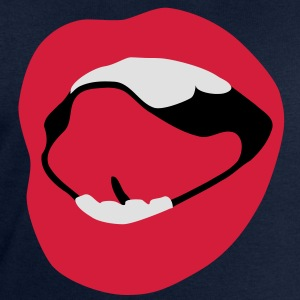 Sexy Mouth Tongue T-Shirts - Men's Sweatshirt by Stanley & Stella