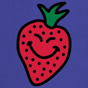 happy_strawberry_3c T-shirts - Forklæde