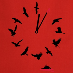 Doomsday Bird Clock T-Shirts - Kochschürze
