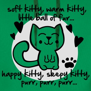 soft kitty, warm kitty, little ball of fur... T-shirts - Premiumluvtröja herr