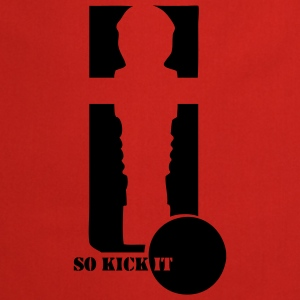 Kicker-Shirt So kick it - Kochschürze