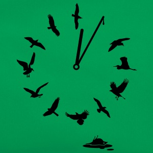 Doomsday Bird Clock T-Shirts - Retro Tasche