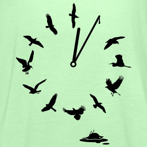 Doomsday Bird Clock T-Shirts - Women's Tank Top by Bella