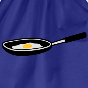 egg_in_pan T-shirt - Sacca sportiva