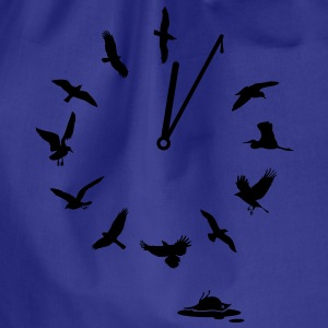 Doomsday Bird Clock T-shirts - Gymtas
