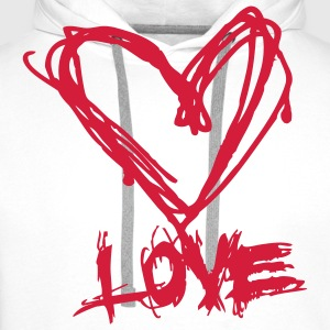 Love like blood T-shirts - Mannen Premium hoodie