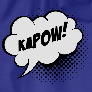 Speech balloon Kapow! T-shirts - Sportstaske