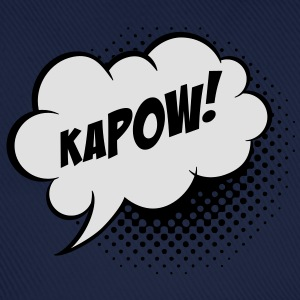 Speech balloon Kapow! T-shirts - Baseballkasket