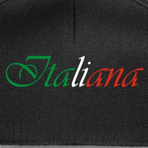 Italiana tee shirt pour femme - Casquette snapback