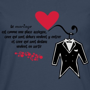 Mariage Tee shirts - T-shirt manches longues Premium Homme