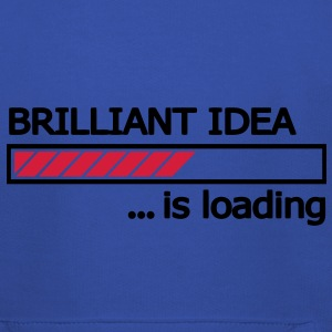 Brilliant Idea is loading Ladebalken Loading Bar  T-Shirts - Kinder Premium Hoodie