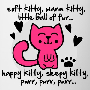 soft kitty, warm kitty, little ball of fur... T-skjorter - Kopp