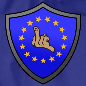 Fuck EU Shield T-shirts - Sportstaske