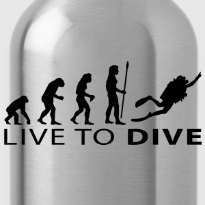 evolution_dive T-shirts - Drinkfles
