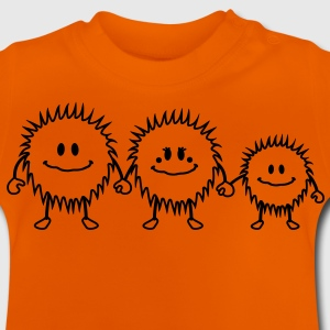 hairy_monster_family Kinder shirts - Baby T-shirt