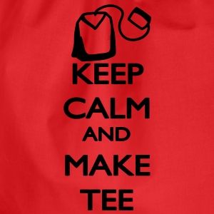 Keep Calm and make Tee Magliette - Sacca sportiva
