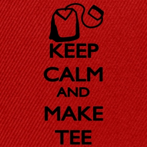 Keep Calm and make Tee Magliette - Snapback Cap