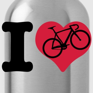 i love bicycle - Water Bottle
