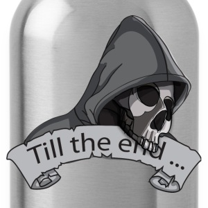 till the end T-Shirts - Water Bottle