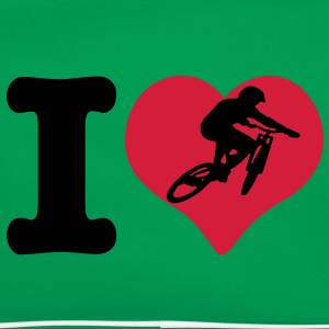 I Love Downhill T-Shirt - Retro taske