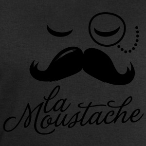 La Moustache Typography Tee shirts - Sweat-shirt Homme Stanley & Stella