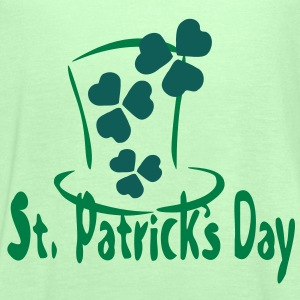 shamrock st.patrick's day  Men's  Classic T-shirt  - Women's Tank Top by Bella