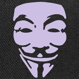 GUY FAWKES, anonymous T-skjorter - Snapback-caps