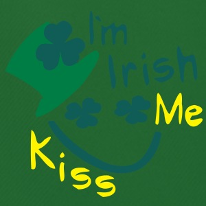 Kiss Me I'm Irish shamrock  hat st.patrick's day Men's Big & Tall Shirt - Men's Football shorts