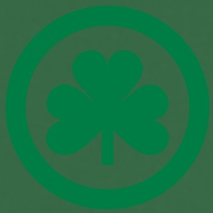 irish shamrock icon  T-Shirts - Kochschürze