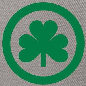 irish shamrock icon  T-Shirts - Snapback Cap